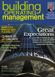 Building Operating Management - November 2011 Cover