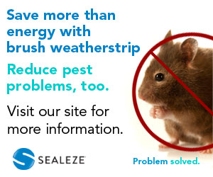 Sealeze Brush Weatherstrip. Click here to learn more...