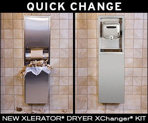 New Xlerator Dryer Xchange Kit >>>