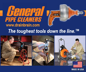General Pipe Cleaners. The toughest tools down the line.