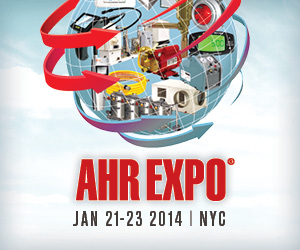 AHR Expo Jan 21-23 2014 | NYC