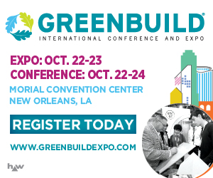 Greenbuild International Conference and Expo. Register Today >