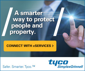 A smarter way to protect people and property. Connect with eServices >