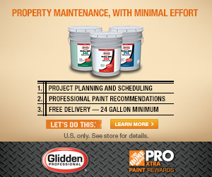 Glidden Professional. Click here.