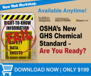 OSHA's New GHS Chemical Standard - Are You Ready?