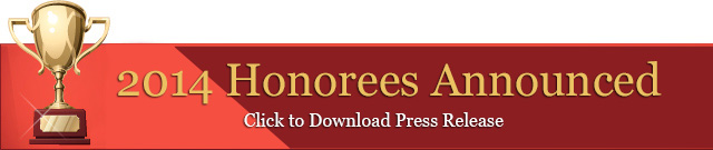 2013 Honorees Announced - Click to Download Press Release