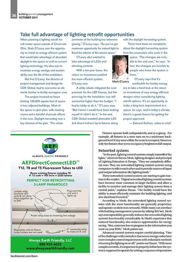 Building Operating Management Magazine Issue October 2017