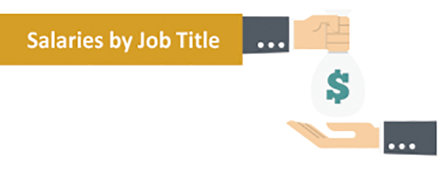 Salaries by Job Title graphic