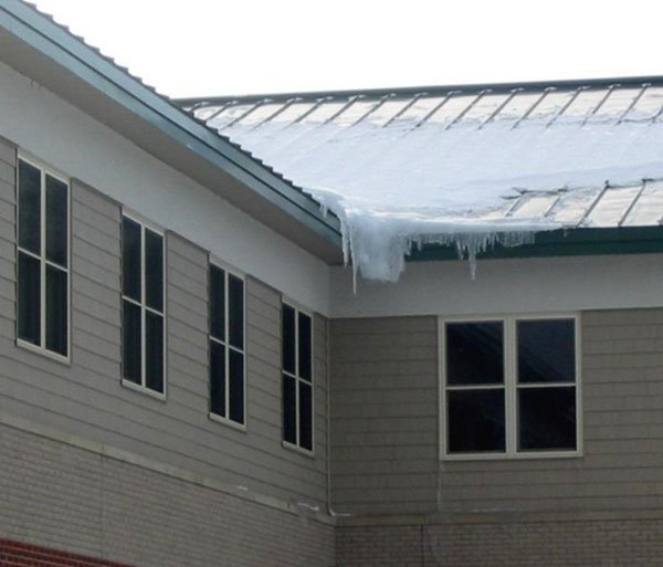 Ice Dams Underlayment And Metal Roofs Can Protect Against