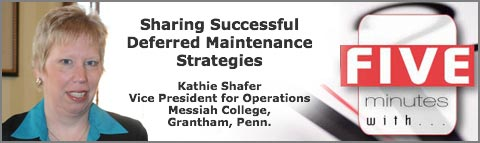 5 Minutes With: Sharing Successful Deferred Maintenance Strategies