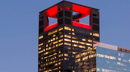 Houston Landmark Upgrades Its Look With Exterior Lighting Facility Management Lighting Case Study