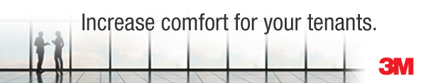 Increase comfort for your tenants. 3M