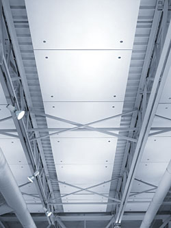Optima Capz Panels: Armstrong Ceiling Systems