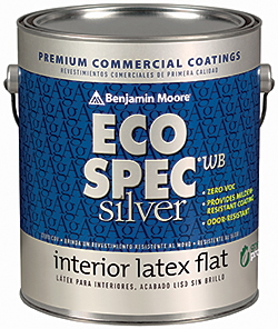 Facilities management paints coatings eco spec wb for Benjamin moore eco spec paint