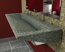 Restroom Lavatory: Bradley Corp.