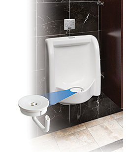 Zero Water Consumption Urinal: Rubbermaid Commercial Products