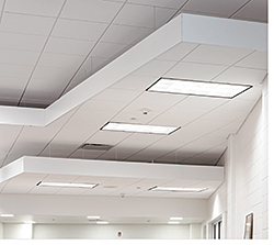Ceiling Trim: Armstrong Commercial Ceilings & Walls