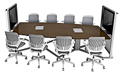 Videoconferencing Lounge: Steelcase Inc.