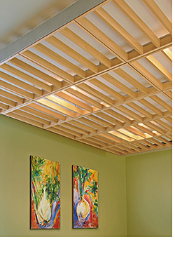Wood Ceiling System: Armstrong Commercial Ceilings & Walls