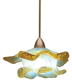 Opalescent Pendants: WAC Lighting