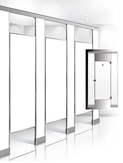 Bobrick Bathroom Partitions Property facilities management plumbing & restrooms: toilet partitions