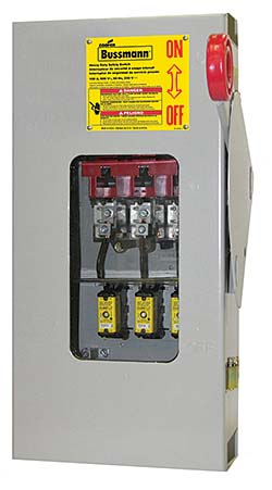 Safety Switch: Eaton Bussman
