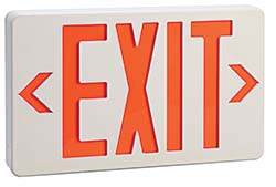 LED Exit Signs: W.W. Grainger