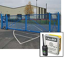 Security Gate Control: Ritron Inc.