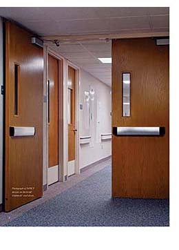 Pushpad: Allegion, plc