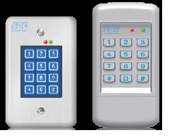 Digital Keypad: Security Door Controls
