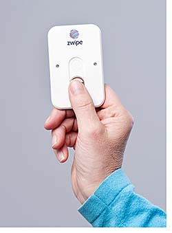 Biometric Access Card: Zwipe AS