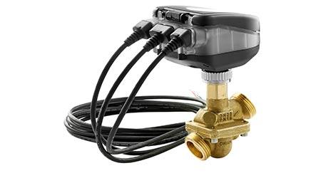 Intelligent Actuator Connects Hydronics, BAS: Danfoss