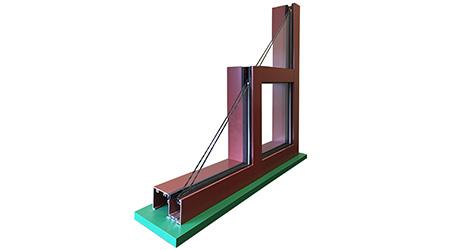 Ribbon Window Resists Condensation: Tubelite