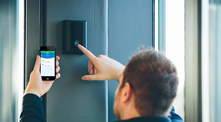 App Facilitates Door Controller Commissioning: Tyco Security Products