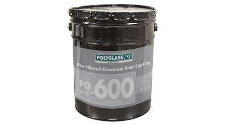 Roof Coating Forms a Metallic Shield on Substrate: Polyglass