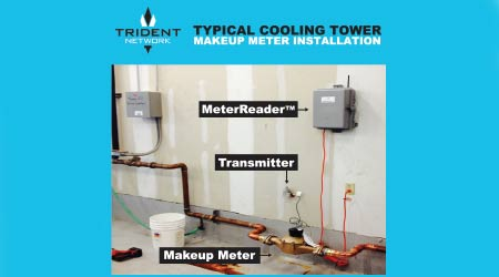 Cooling Tower Monitor Detects Water Waste: Trident Network