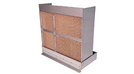 System Provides Evaporative Cooling and Humidification: DriSteem