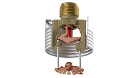 Standard Response Concealed Sprinkler Available for Retrofit: Viking