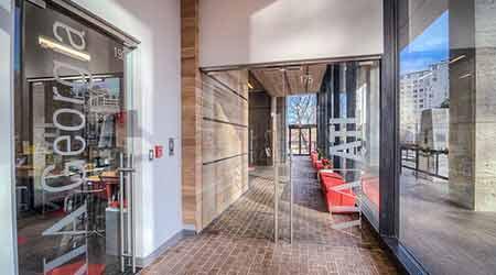 Bifold Door Schweiss Doors & Overly Door Hardware u0026 Wireless Lock ASSA ABLOY ...