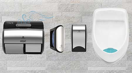 Suite of Air Care Products Tackle Restroom Odor: GP PRO