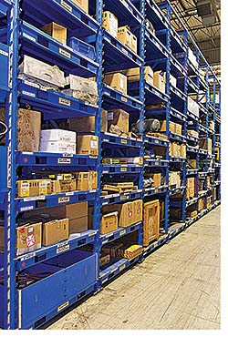 Storage and Handling System: Lista International Corp.