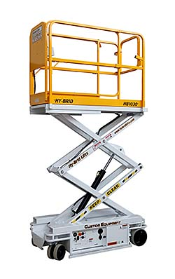 Scissor Lift: Custom Equipment Inc.