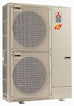 Inverter Outdoor Heat Pumps: Mitsubishi Electric and Electronics USA, Inc. HVAC