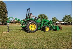 Compact Utility Tractors: John Deere Co.