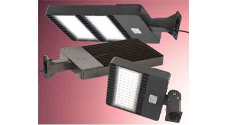 DLC–Listed LED Outdoor Lighting Series Features Multiple Mounting Accessories: LEDtronics Inc.