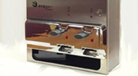 Feminine Hygiene Dispenser Experiences Redesign: Hospeco