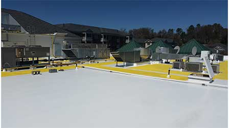 Roof Walkway System Provides Abrasion, UV Resistance: Progressive Materials