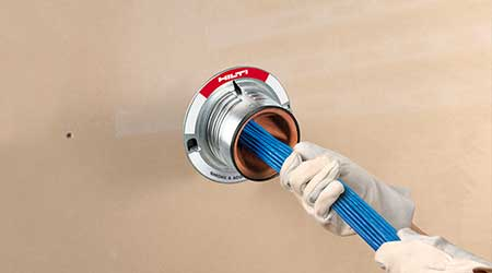 Smoke and  Acoustic Sleeve Helps Limit Fire Risk: Hilti Inc.