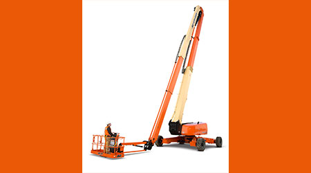 Articulating Boom Lift Provides Access to Hard-to-Reach Areas: JLG Industries Inc.