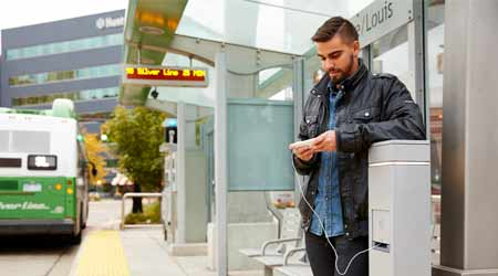 Charging Stations Help Improve Mobile Connectivity in Outdoor Spaces: Legrand